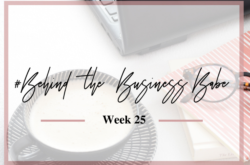 #behindthebusinessbabe week 25: coaching, van hoge naar lage energie, werken in het weekend en de Belastingdienst